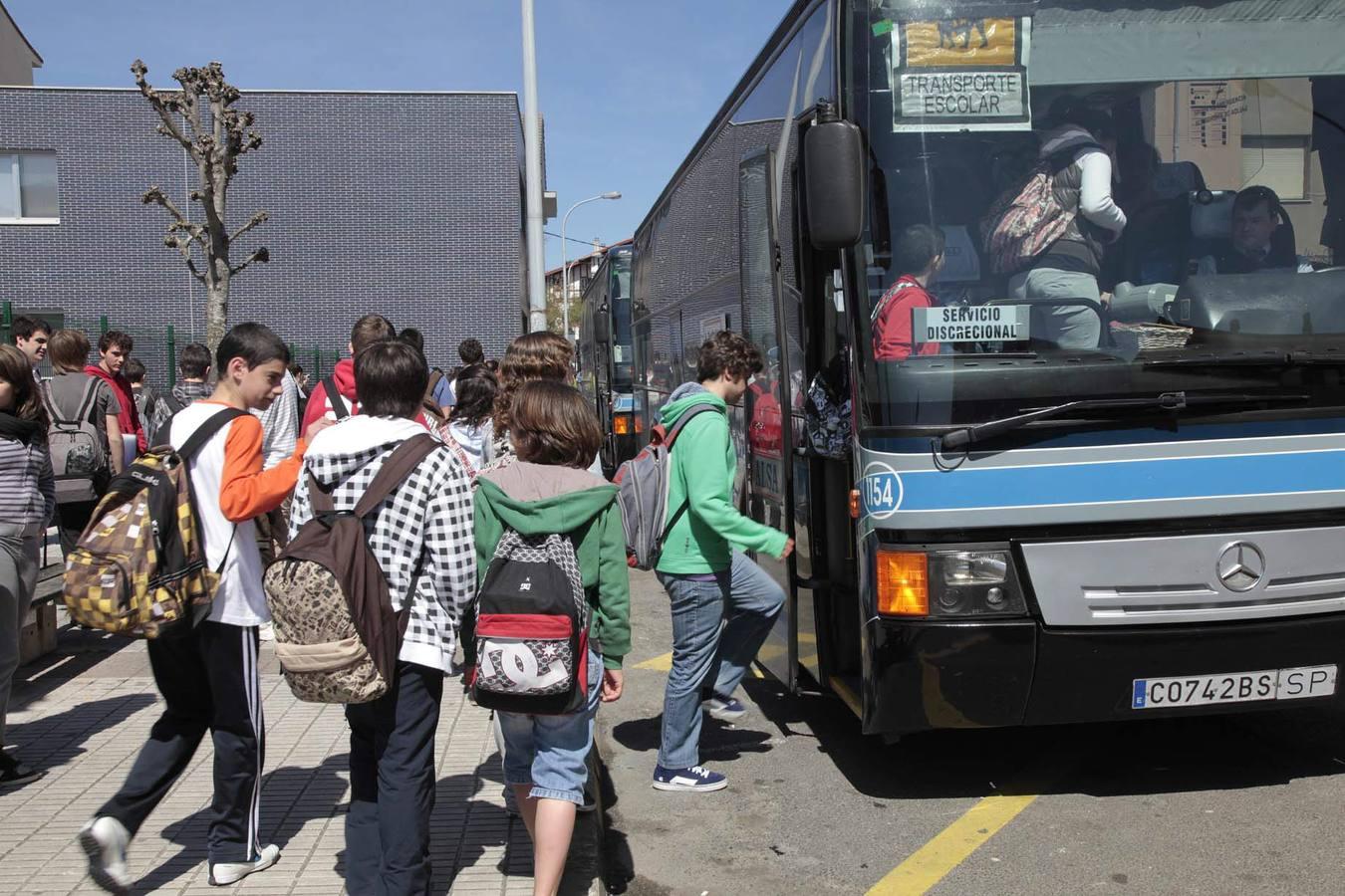 Optimización del transporte escolar