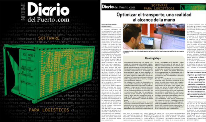 Fuente: Diario del Puerto. Especial Software de Logística