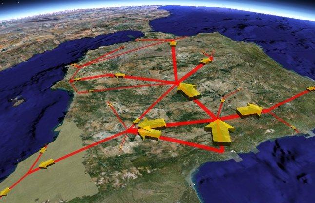 Diseño de rutas de transporte logística