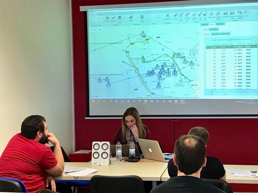 RoutingMaps en el curso de Gestión de flotas y optimización de rutas