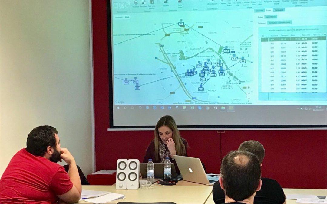 """curso """"Gestión de flotas y optimización de rutas"""""""